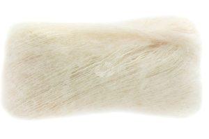 Lana Grossa Setasuri crema: filato in lana di Alpaca Suri e seta - Amici di Maglia