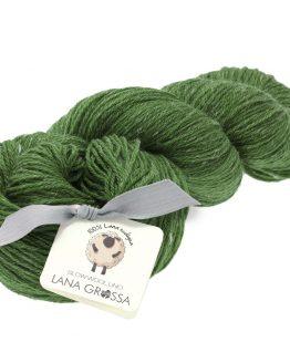 filato lana lino lana grossa slow wool lino verde amici di maglia