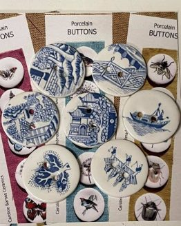 CB Ceramics Buttons: bottoni in ceramica dipinti a mano - Amici di Maglia