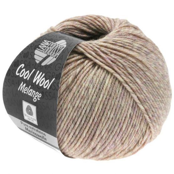 Lana Grossa Cool Wool Mélange 155: filato invernale in pura lana merino in colorazione mélange - Amici di Maglia