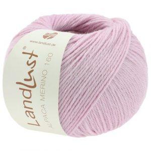Lana Grossa Landlust Alpaca Merino 160 413 rosa: prezioso filato invernale in pura lana vergine merino e baby alpaca - Amici di Maglia