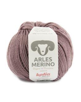 Katia Arles Merino 57 mora perlato: filato pregiato in pura lana merino - Amici di Maglia