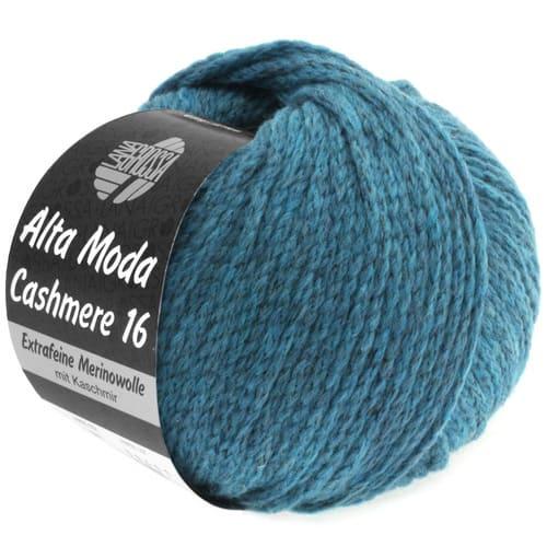 Lana Grossa Alta Moda Cashmere 09 benzina: filato pregiato in cashmere e lana merino - Amici di Maglia
