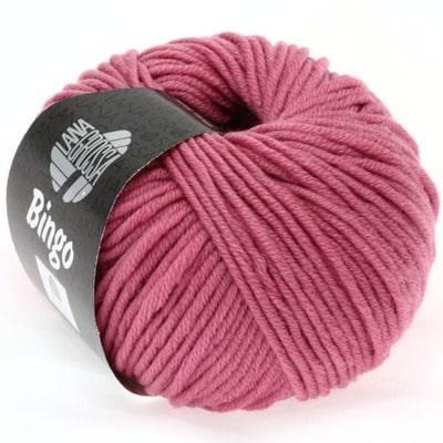 Lana Grossa Bingo 168 rosa: morbido filato invernale in pura lana merino perfetto per lavori a uncinetto per bambini e neonati - Amici di Maglia