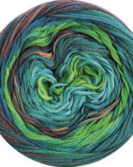 Lana Grossa Fresco 05: filato estivo in cotone multicolore - Amici di Maglia