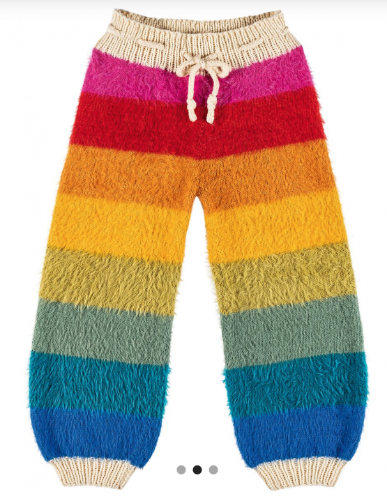Lana Grossa kit ai ferri pantaloni bambino Amici di Maglia