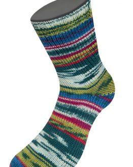 Lana Grossa Meilenweit 100 Cheyenne 4267: filato per calze autorigante in pura lana vergine con aloe vera - Amici di Maglia