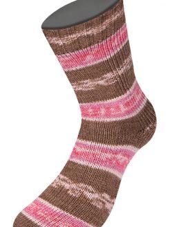 Lana Grossa Meilenweit 100 Cotton Bamboo Sabbia 2466: filato per calze autorigante in lana e cotone - Amici di Maglia
