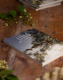 LITLG Issue 4 Between Earth and Sky: rivista contenente modelli di maglia realizzati con i preziosi filati LITLG – Amici di Maglia