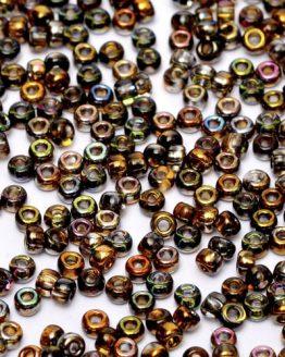 Miyuki Crystal Magic Copper 8/0: preziose perline in sfumature ramate in vetro giapponese - Amici di Maglia