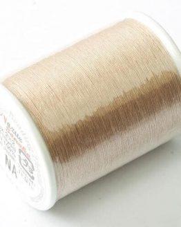 Miyuki Nozue Sonoko beige naturale: spoletta di filo in nylon per perline - Amici di Maglia