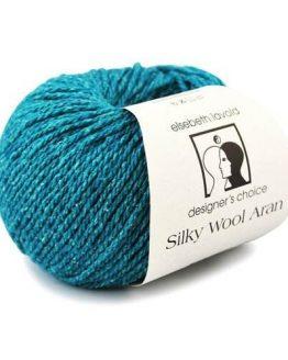 Elsebeth Lavold Silky Wool Aran gomitolo: filato pregiato in lana e seta ideale per lavori a maglia - Amici di Maglia