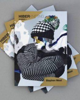 Hiberknitting by Stephen West: libro di modelli ai ferri contenente 2 modelli di cappelli, 2 di scialli e 1 maglione - Amici di Maglia