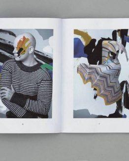 Hiberknitting by Stephen West: interno del libro di modelli ai ferri contenente 2 modelli di cappelli, 2 di scialli e 1 maglione - Amici di Maglia