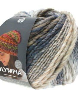 Lana Grossa Olympia 026: filato in lana vergine multicolore superbulky - Amici di Maglia