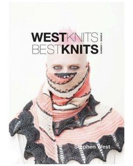 Westknits Bestknits 1 Shawls modello Exploration Station: libro di 13 modelli ai ferri di scialli del designer Stephen West - Amici di Maglia
