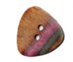 Bottoni triangolari in legno Lilac – KnitPro