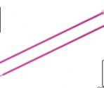 Ferri Diritti Zing KnitPro 30 cm.